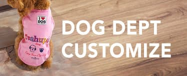 DOG DEPT CUSTOMIZE